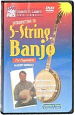 Geoff Hohwald - Introduction To 5-String Banjo    DVD